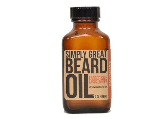 Beard Oil Nag Champa Scented Beard Oil For Men by BeardOil