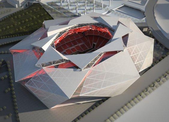 Atlanta Falcons Reveal Potential Plans for New Stadium  | Bleacher Report