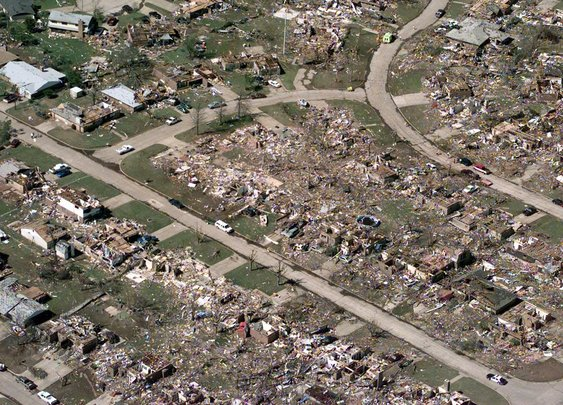 Oklahoma Tornado: Old Woman's Prayers Answered : 101 or Less