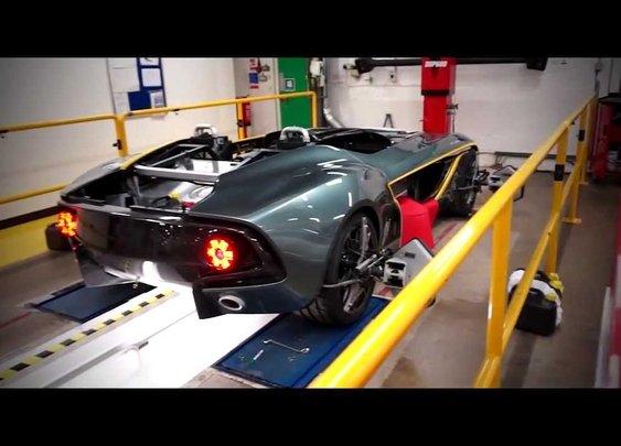 Aston Martin CC100 Speedster Concept - YouTube