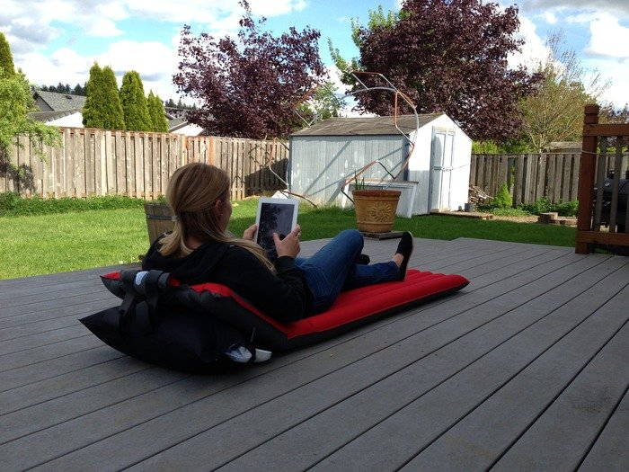 Windcatcher: The fastest inflating air pad ever.