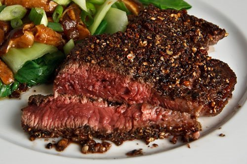 Closet Cooking: Sichuan Peppercorn Tenderloin Steak