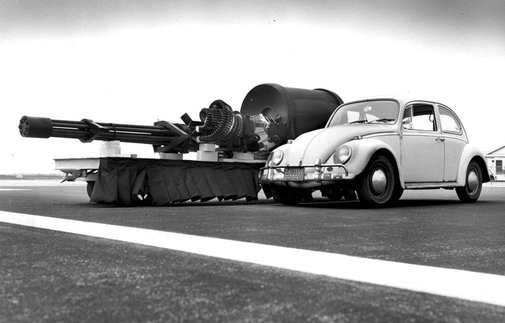 Main Gun of an A10 Warthog