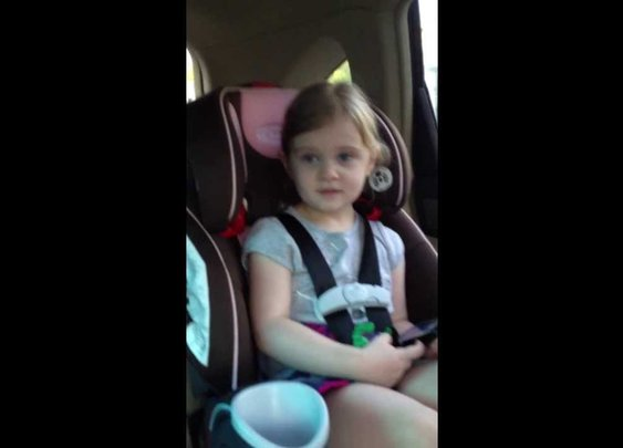 Mia Grace Knows Her Marvel Super Heroes - YouTube