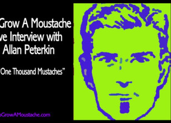 How To Grow A Moustache Exclusive Interview with Professor Allan Peterkin | How to Grow a Moustache