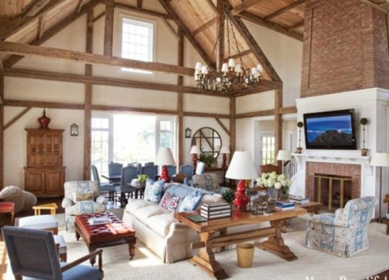 50 Comfortable And Inviting Barn Living Rooms | Style Motivation