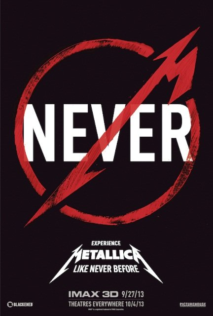 Metallica: 'Through The Never' Movie Trailer : 101 or Less