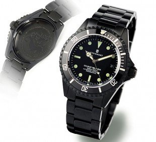 OCEAN BLACK DLC - Diver Watch - Steinhart Watches