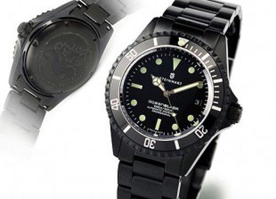 OCEAN BLACK DLC - Diver Watch - Steinhart Watches