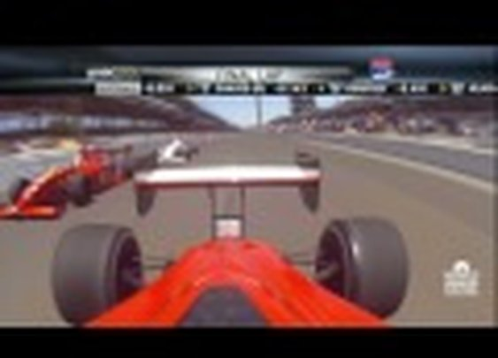 The Finish Of Today's Firestone Indy Lights Race Was Total Insanity