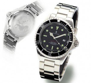 OCEAN 1 VINTAGE red - Diver Watch - Steinhart Watches