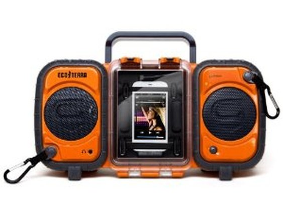Amazon.com: Grace Digital GDI-AQ2SI60 ECOXGEAR Rugged and Waterproof Stereo Boombox: Electronics