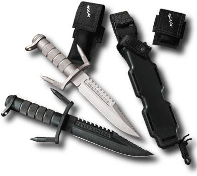 The Buck-184 Buckmaster - The peak of survival knives!