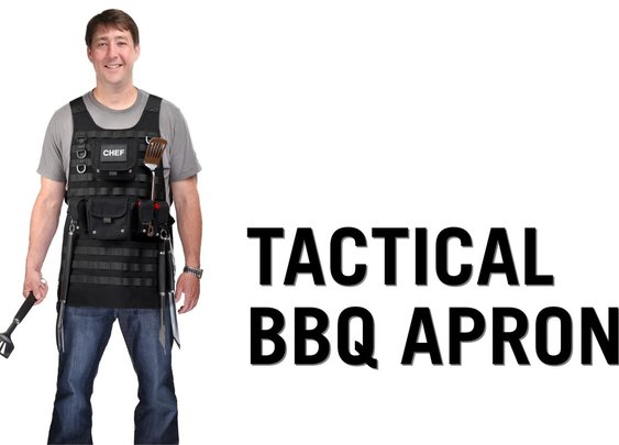 Tactical BBQ Apron from ThinkGeek