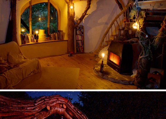 Straw, Sticks & Secrets: A Hand-Built Earthen Hobbit Home