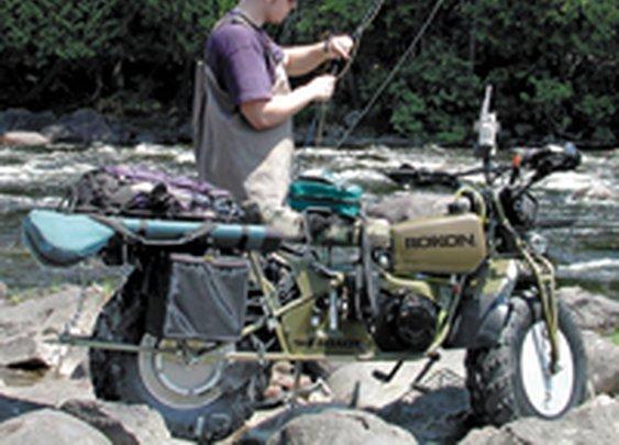 Rokon 2-Wheel Drive Motorcycles