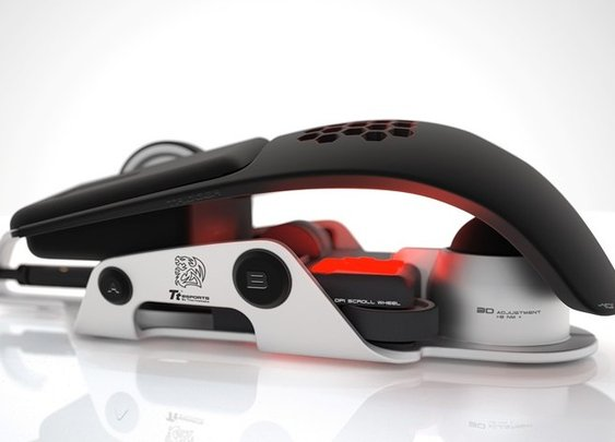BMW Teams Thermaltake for Gaming Mouse