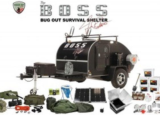 BOSS Bug Out Survival Shelter