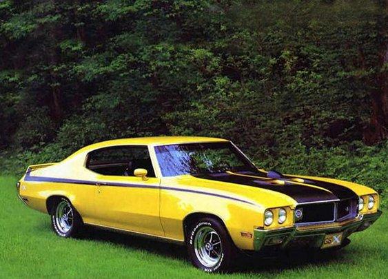 1971 Buick GSX