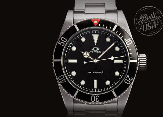 MKII Nassau watch