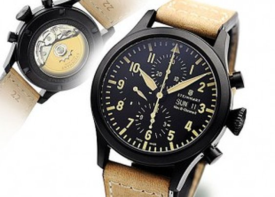 Nav B-Chrono II Black DLC - Chronographs - Steinhart Watches