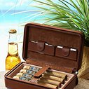 Overnight Leather Cigar Case