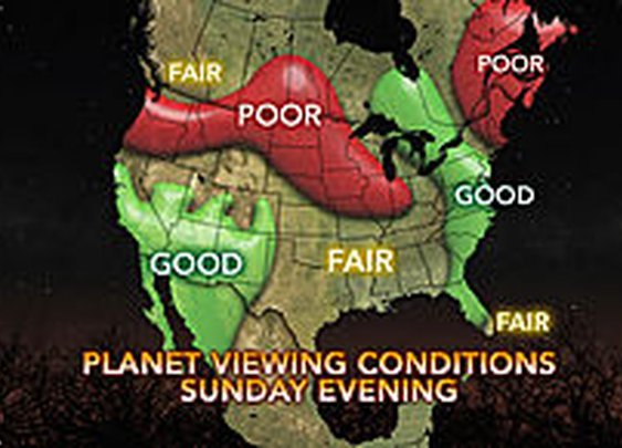 Rare Planetary Trio to be Visible This Weekend