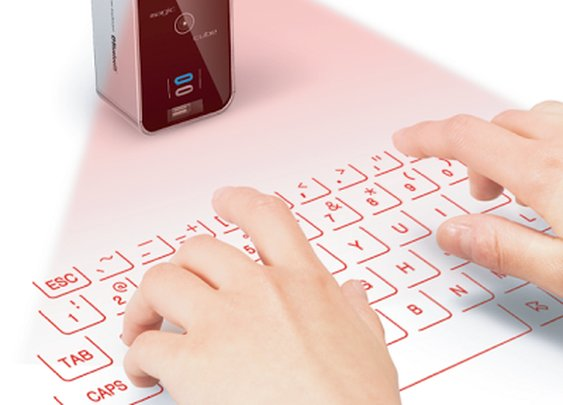 Laser Projector Keyboard