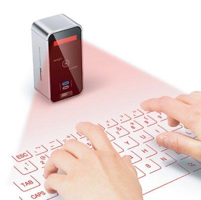 Laser Projector Keyboard