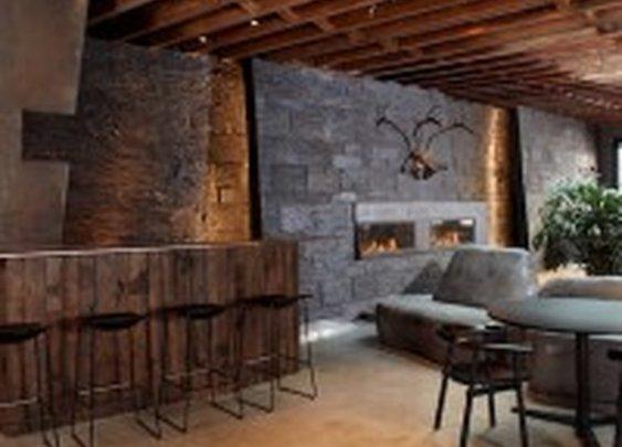 Dark and Rustic Bachelor's Gramercy Park Loft