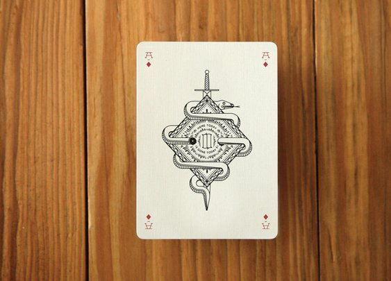 Manly Playing Cards