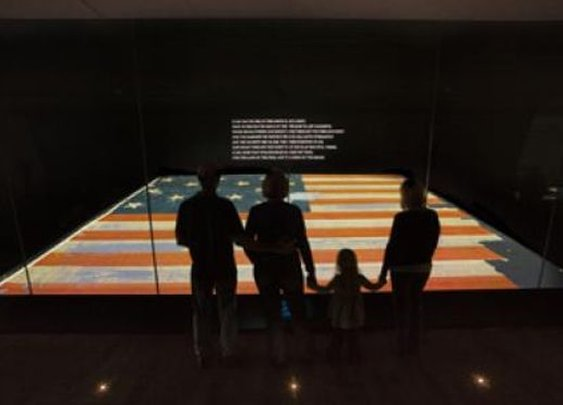 Taking the Kids and learning about the star spangled banner