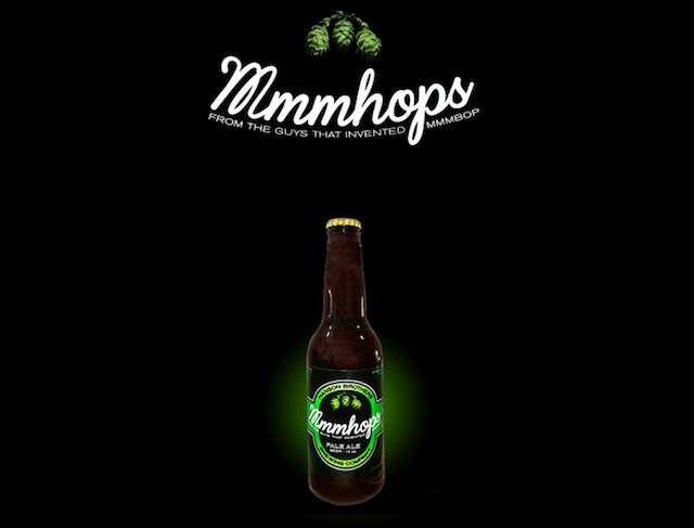 Mmmhops is a new beer brought to you by the mmmbop boys