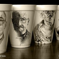 Coffee Cup Artwork by Cheeming Boey