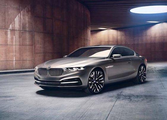 BMW Pininfarina Gran Lusso Coupé Unveiled