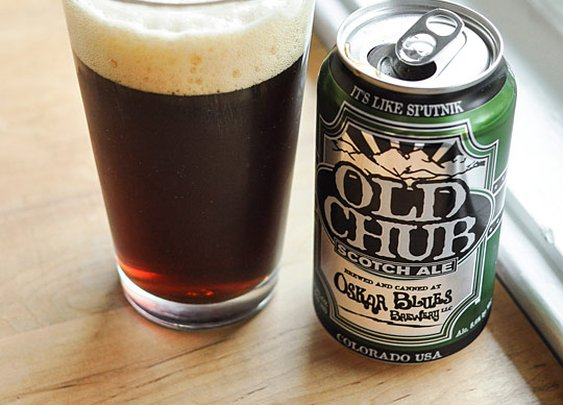 Beer Review:  Old Chub Scotch Ale from Oskar Blues Brewery   Beer Sessions | The Kitchn