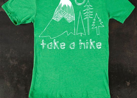 Men's Take A Hike Tee by TrulySanctuary TShirt by trulysanctuary
