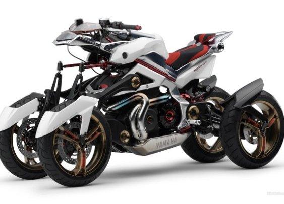 Yamaha Tesseract four-wheeled motorcycle