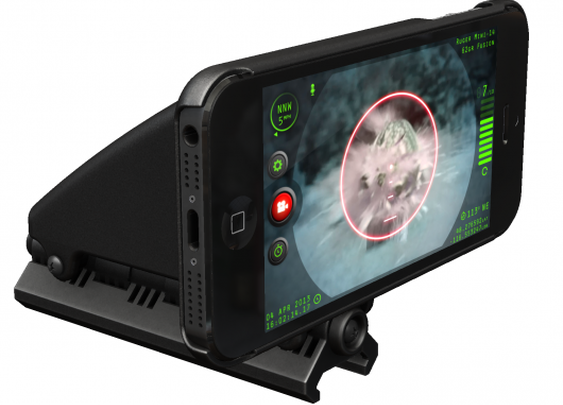 Inteliscope turns your iPhone into a tactical gun sight