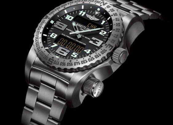 Breitling Emergency II - built-in emergency satellite transmitter