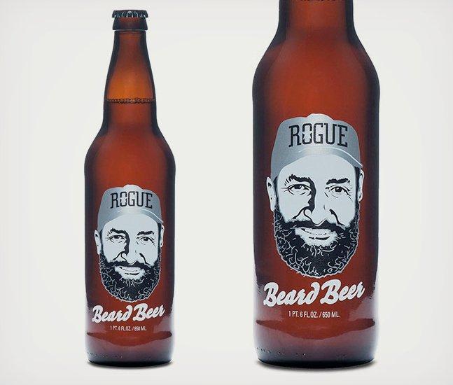 Rogue Beard Beer Made With Beard Yeast