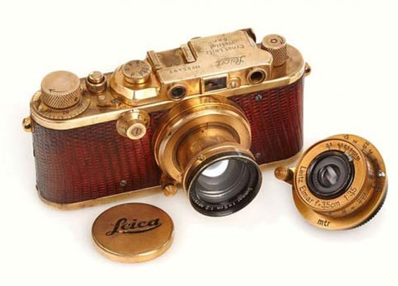 Gold Plated 1931 Leica Camera Sold for $683,000