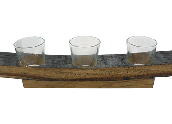 Stave Flight Tray   Caskers