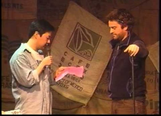 Zach Galifianakis and Ken Jeong in 1998 - YouTube