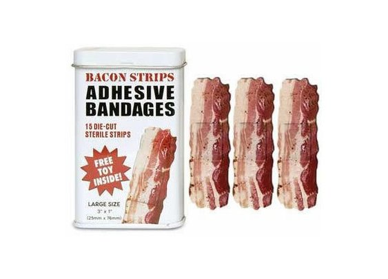 bacon bandaids!
