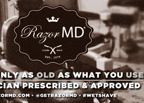 Razor MD® | the prescription for the perfect shave.™