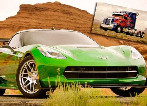 Transformers 4 Movie Sequel using Bugatti Veyron and Corvette Stingray | NSTAutomotive