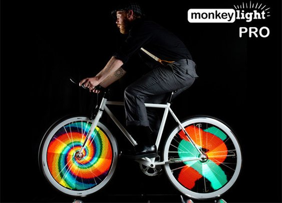 Bicycle Wheel Display System by MonkeyLectric