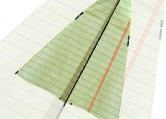 Paper Airplane - New Tech Kites