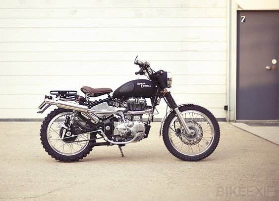 Royal Enfield custom motorcycle | Bike EXIF